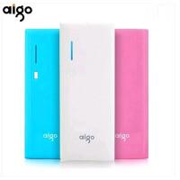 Aigo移动电源正品 冲手机通用爱国者电子充电宝12500毫安便携K130