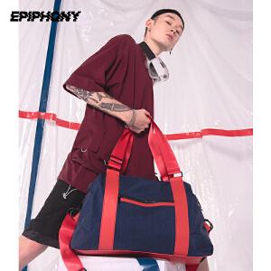 Epiphqny2018新款原创潮流防水男士背包休闲可手提背包