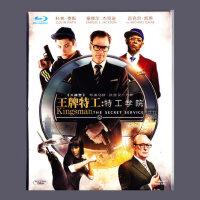 正版高清1080p电影 王牌特工:特工学院蓝光dvd光盘碟片BD50