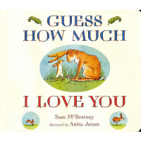 Guess How Much I Love You [Board Book] 猜猜我有多爱你(卡板书) ISBN978
