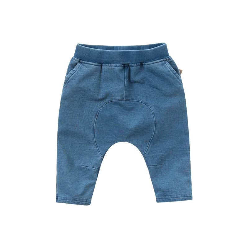 [领劵400减80]戴维贝拉2019秋季新款男童弹力牛仔裤 宝宝哈伦裤DB7046 弹力面料 舒适好穿 活动自如