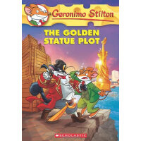 The Golden Statue Plot (Geronimo Stilton #55) 老鼠记者55 ISBN97
