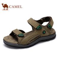 camel骆驼男鞋 夏季新款 户外休闲沙滩鞋 男士凉鞋