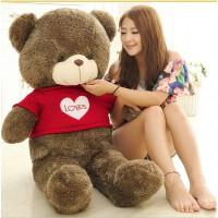 毛衣抱抱熊毛绒玩具泰迪熊公仔布娃娃玩具