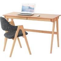 家逸 北欧简约实木书桌 学习桌写字台办公桌电脑桌