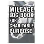 预订 Mileage Log Book for Charitable Purpose: Mileage Record