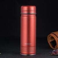 不锈钢保温杯男女便携直身水杯个性时尚复古商务杯子350ml