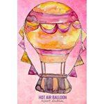 预订 Hot Air Balloon Flight Journal: Log to Write In - Travel