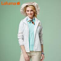 法国LAFUMA乐飞叶女士户外登山徒步防风防泼水冲锋衣LFJ06A120