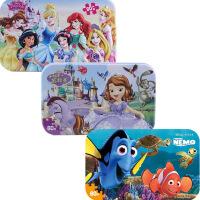 【当当自营】迪士尼拼图玩具 60片铁盒木质拼图三合一(公主2261+苏菲亚2265+海底总动员2393)