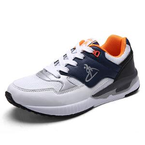 领舞者新款情侣鞋男运动鞋潮流男鞋透气跑步鞋慢跑鞋休闲旅游鞋