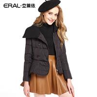 ERAL/艾莱依韩版女士轻薄羽绒服冬季短款长袖12022-EDAA