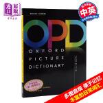 【中商原版】牛津图解词典字典辞典 OPD 中英版 第三版 Oxford Picture Dictionary儿童英文图