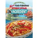 预订 More Fast & Fabulous Five-Star 5 Ingredient Recipes (or