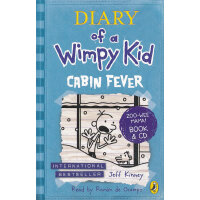 Diarry of Wimpy Kid: Cabin Fever [Book+CD] 小屁孩日记6:幽闭症(书+CD) ISBN9780141348551