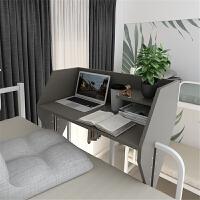 宿舍神器床上桌悬空小桌子床上笔记本电脑桌学习桌上铺书桌收纳架