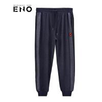 BURANDOENO潮牌新品男款休闲裤时尚束脚运动裤E18F31MKP032