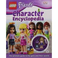 LEGO? Friends Character Encyclopedia 乐高:朋友们ISBN978140934739