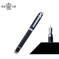 全店满百包邮!德国公爵duke碳纤黑色钢笔/铱金笔/墨水笔/练字笔