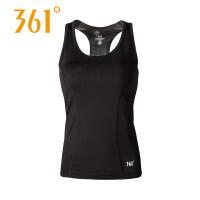 361度女装运动背心女长款透气健身无袖跑步上衣