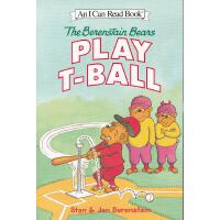 Berenstain Bears Play T-Ball, The贝贝熊打棒球(I Can Read,Level 1)