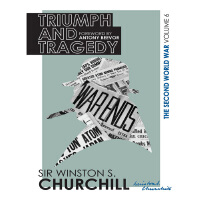 丘吉尔二战回忆录6:胜利与悲剧 英文原版 History of the Second World War #6: Triumph And Tragedy Winston S. Churchill