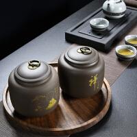 茶�~罐家用功夫茶具�Υ婀薏璧来筇�密封普洱茶罐