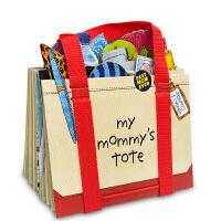【顺丰速运】英文原版 Workman My Mommy s Tote 我妈妈的手提包/皮包绘本 立体造型操作书 儿童启