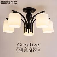 东联现代简约LED客厅灯吸顶灯具美式乡村田园卧室餐厅灯房间灯饰x49