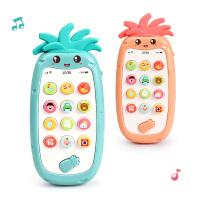 【跨店2件5折】儿童双语手机玩具宝宝益智0-1岁3小女孩8仿真音乐电话婴儿6个月12