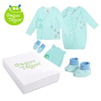 【加拿大童装】 GagouTagou婴儿衣服新生儿礼盒春秋刚出生初生满月宝宝套装母婴用品