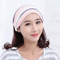 时尚孕妇帽子产后秋冬季用品坐月子帽薄款产妇头巾