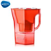 【当当自营】碧然德(BRITA) 过滤净水器 家用滤水壶 净水壶 限量  Navelia2.3L 红色 1壶1芯