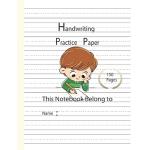 预订 Writing Practice Paper: Handwriting Dotted Lined Paper N