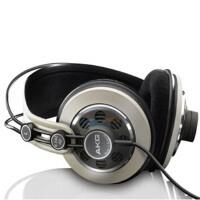 AKG 爱科技 K242HD 监听式头戴耳机   专利振膜,层次清晰,细节一览无遗!