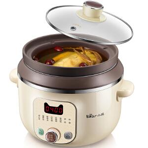 小熊(Bear)隔水炖电炖锅不锈钢电炖盅炖汤煲汤煮粥锅 DDZ-125TC