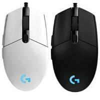 罗技G102有线游戏鼠标电竞炫光呼吸灯宏编程LOL守望先锋 G1经典造型 6个自定义键
