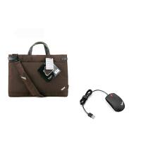 ThinkPad 商务单肩包+ThinkPad 原装有线鼠标