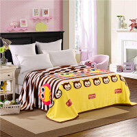 【清仓】法兰绒毛毯加厚双人珊瑚绒毯 夏季毛巾被空调午睡单双人床单盖毯