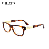 宝姿ports 男女款全框板材眼镜架 潮人眼镜框 可配近视眼镜POM13307