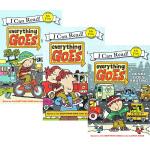 Everything GOES 3本 I can read系列 入门级儿童分级读物英语绘本 交通工具 英文原版