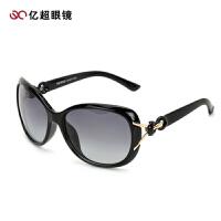 亿超 时尚偏光太阳镜 女款 欧美复古大框太阳眼镜 墨镜9105