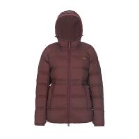 JOMA荷�R女90白���q羽�q服冬季中�L款加厚保暖棉服外套