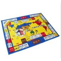 惠多 大富翁地毯 游戏垫 多功能游戏毯 游戏棋 附道具精包装特价