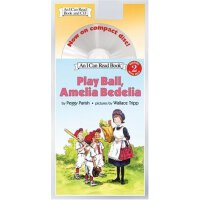 I Can Read Level 2 Book and CD Play Ball, Amelia Bedelia IS