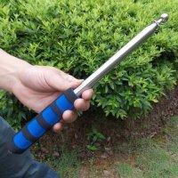 旗杆 教师教鞭 指挥棒 不锈钢旗杆 导游旗杆 伸缩旗杆 红色1.6米