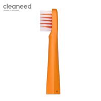 cleaneed电动牙刷头 成人 声波柔软敏感不伤齿 高伟光同款 单独刷头 香橙色*1