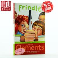 【中商原版】我们叫它粉灵豆 英文原版 FRINDLE 纽约时报畅销书 Andrew Clements