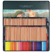 马可(Marco) 雷诺阿系列水溶性彩色铅笔/填色笔专业马克手绘绘画铅笔 经典版铁盒装3120 72色 3120-72TN
