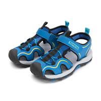 【1件4折价:108元】探路者童鞋 2021春夏新品户外男女通款百搭织带凉鞋QFKJ85908